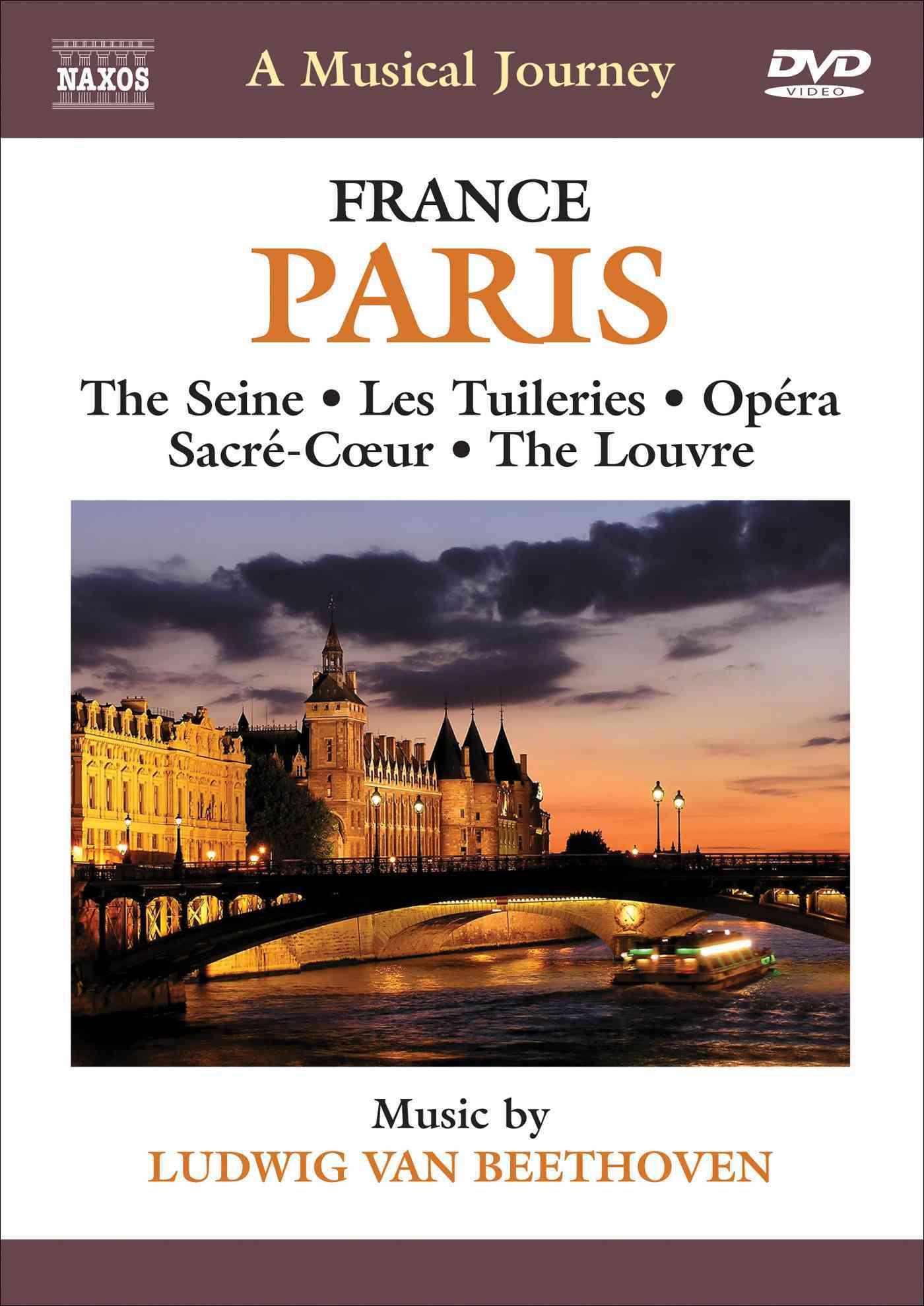 BEETHOVEN:MUSICAL JOURNEY PARIS FRANC BY SLOVAK RADIO SYMPHON (DVD)